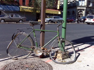 If your bike looks like this, we may not be able to help you fix it, but we can help you figure out what to do about it!