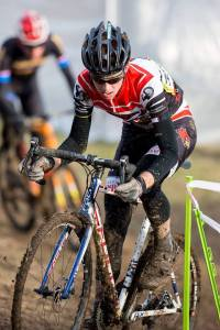 John Francisco is a former Red Zone Elite junior and raced in Europe as part of the EuroCross Camp before attending UofL. Photo:Kent Baumgardt